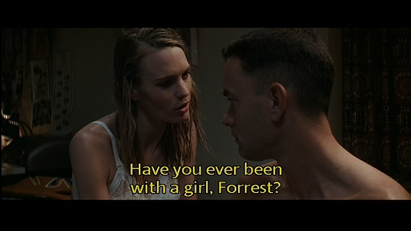 Sex scene from forrest gump